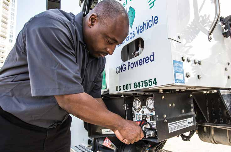 The Natural Choice For Natural Gas Allison Automatics are ideal for natural gas engines that have to endure the heavy start-stop duty cycles of urban distribution vehicles.