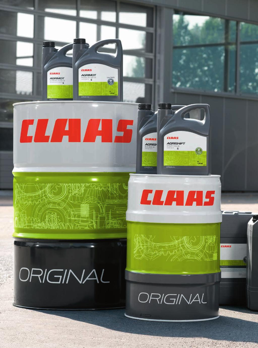 Engine oils. With their perfectly balanced formulation and additives, CLAAS AGRIMOT engine oils are optimised for the engine at the heart of every CLAAS machine.