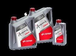 CEPSA AVANT 5W50 SYNT Synthetic lubricant oil for direct-injection gasoline and diesel engines.