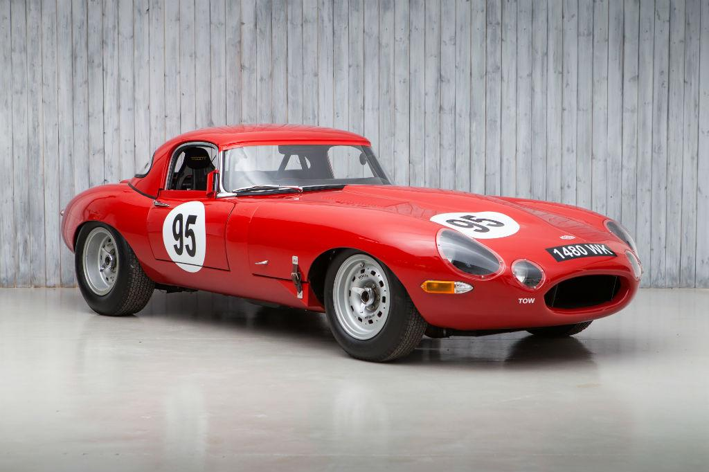 1962 Jaguar E-Type to FIA Semi-Lightweight Specification Chassis Number: 877607 Registration Number: 1480 WK A 1962 Series 1 E-Type Roadster restored to FIA Semi-Lightweight Specification.