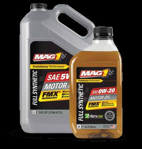 FULL SYNTHETIC OEMs continue to evolve engine designs that demand more from motor oil. One brand has evolved right alongside MAG 1.