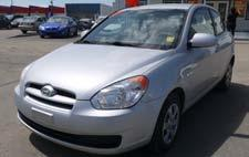 seats, one tax 2008 hyundai accent GL stock# nb5691a