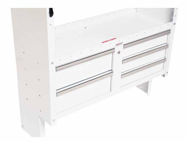 secure storage Add extra security and theft-resistance for valuable tools and equipment with WEATHER GUARD Secure Storage shelf units. Multiple door and drawer modules easily assemble into shelving.