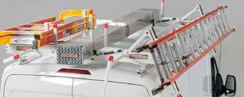 STEP SELECT A DROP-DOWN LADDER RACK ASSEMBLY (Single-Side Only with Crossmembers) Drop-Down Ladder Rack Assemblies Drop-down can mount on driver or passenger side.
