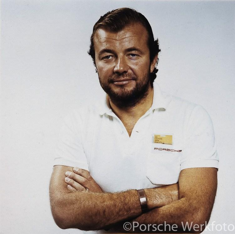 Anatole Lapine Head of Porsche Design Dept., ca. 1973 An even more unusual design challenge arrived in the early 80s.