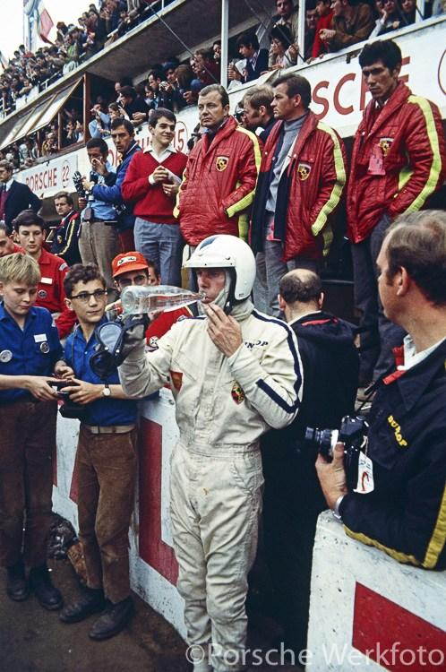 Le Mans 24 Hours, 15 June 1969: Richard Attwood takes a
