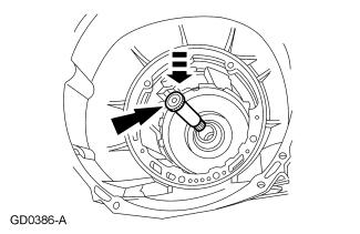 Page 10 of 22 15. Install the forward clutch hub and the No.