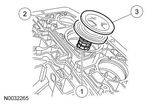 Page 17 of 22 51. Install the reverse servo assembly. 1. Install the rod. 2. Install the piston assembly. 3. Install the reverse servo piston cover and seal. 52.