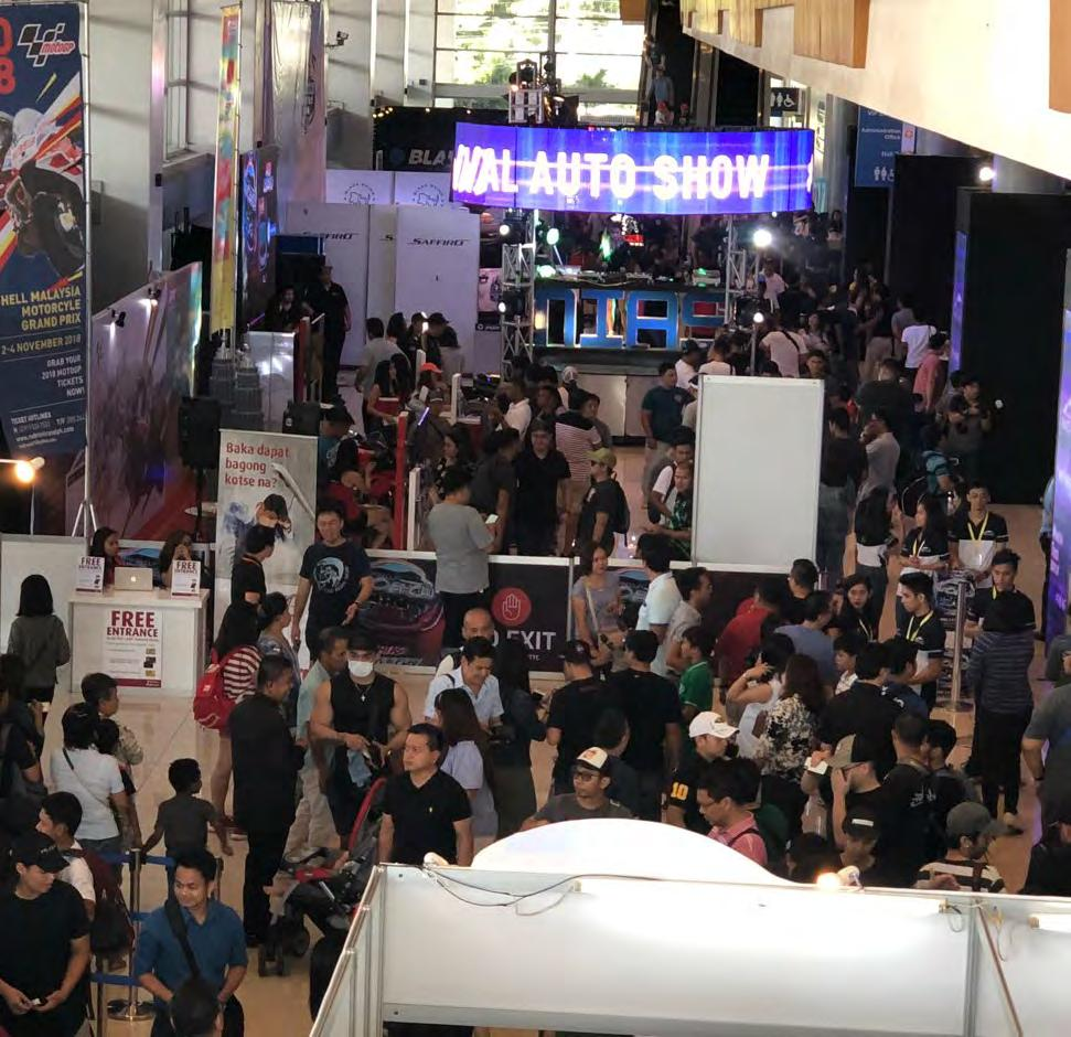 94.4% agreed that MIAS is the biggest and most attended auto show in the PHilippines TOP