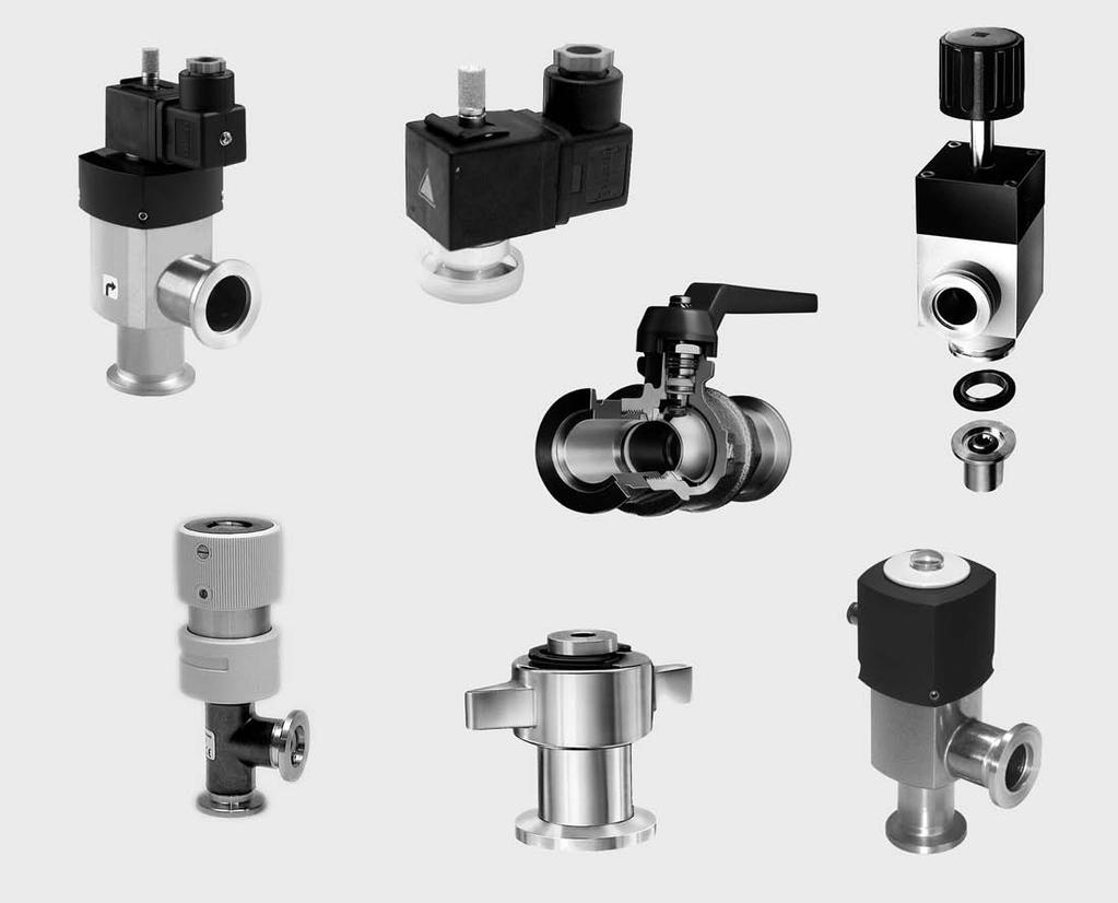 Special Valves with ISO-KF/ISO-K/CF Flange Overview 4 3 1 6 2 5 7 Oerlikon Leybold Vacuum offers a range of special valves for a variety of different applications and to meet special design
