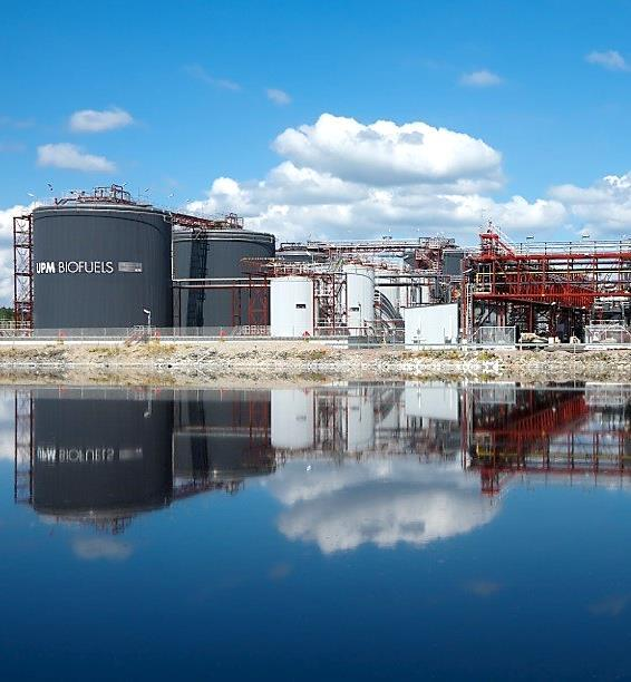 Growth projects Lappeenranta biorefinery nearing its start Sales agreement with NEOT signed in June Construction of the biorefinery was completed in July Commissioning