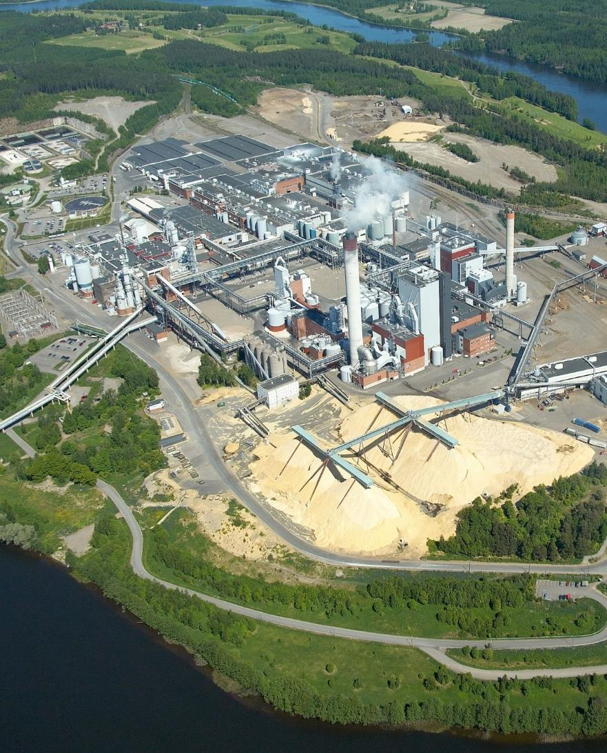 Growth projects 1% expansion in pulp production capacity Pietarsaari pulp mill modernisation and 7,t