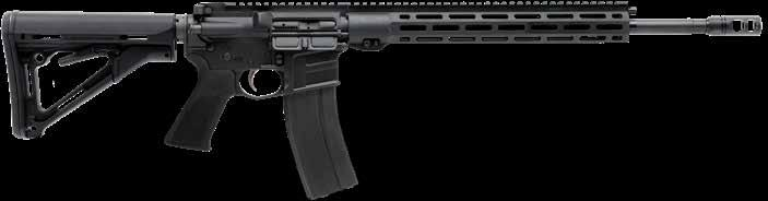 new MSR 15 VALKYRIE Custom-Forged Lower // Melonite QPQ Heavy Barrel // Mid-Length Gas System Hogue Pistol Grip // Free Float M-LOK