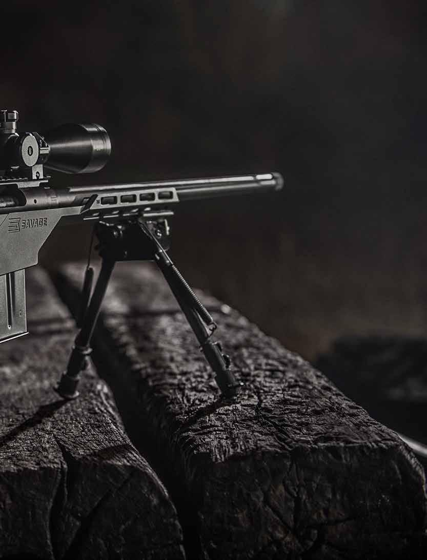 Rifles in this series have many different features for many different purposes. But every one of them is built on the legendary Model 110 action, the most accurate factory action ever.