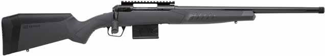 new 110 TACTICAL AccuFit // Detachable Box Magazine // Black Heavy Fluted Barrel // Threaded Barrel Gray Synthetic Stock // Soft Grip Fore-End and Pistol Grip Surfaces // New Model 110 Design and