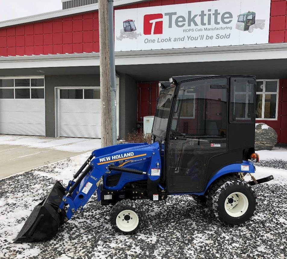 ca One year standard product warranty provided by Tektite. Please note: cab is shown in photo with optional accessories.