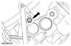 Page 19 of 21 60. Remove the stud bolt and the coolant tube. Discard the O-ring seals. All cylinder heads 61. NOTICE: The cylinder head must be cool before removing it from the engine.