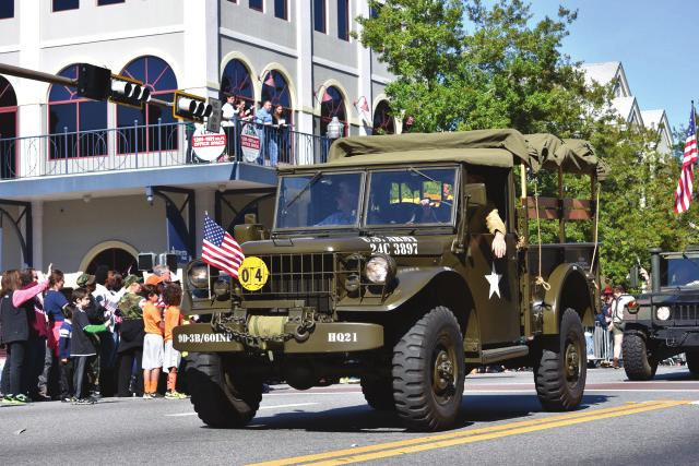 Bill Grimes brought his M151 Jeep.