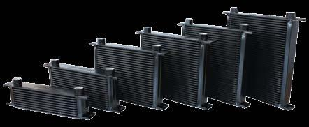 ½ / 16 5/8 10 ¼ OIL COOLERS Aeroflow offers a tremendous selection of the industry s highest quality coolers in a wide range of applications and profiles.