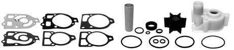 R.O.: 47-89984Q5 RECMC00003 JUEGO REPARACIÓN BOMBA AGUA Water pump service kit for all MCM 0-260hp GLM2280 & 2290 El kit contiene - The kit contains El kit