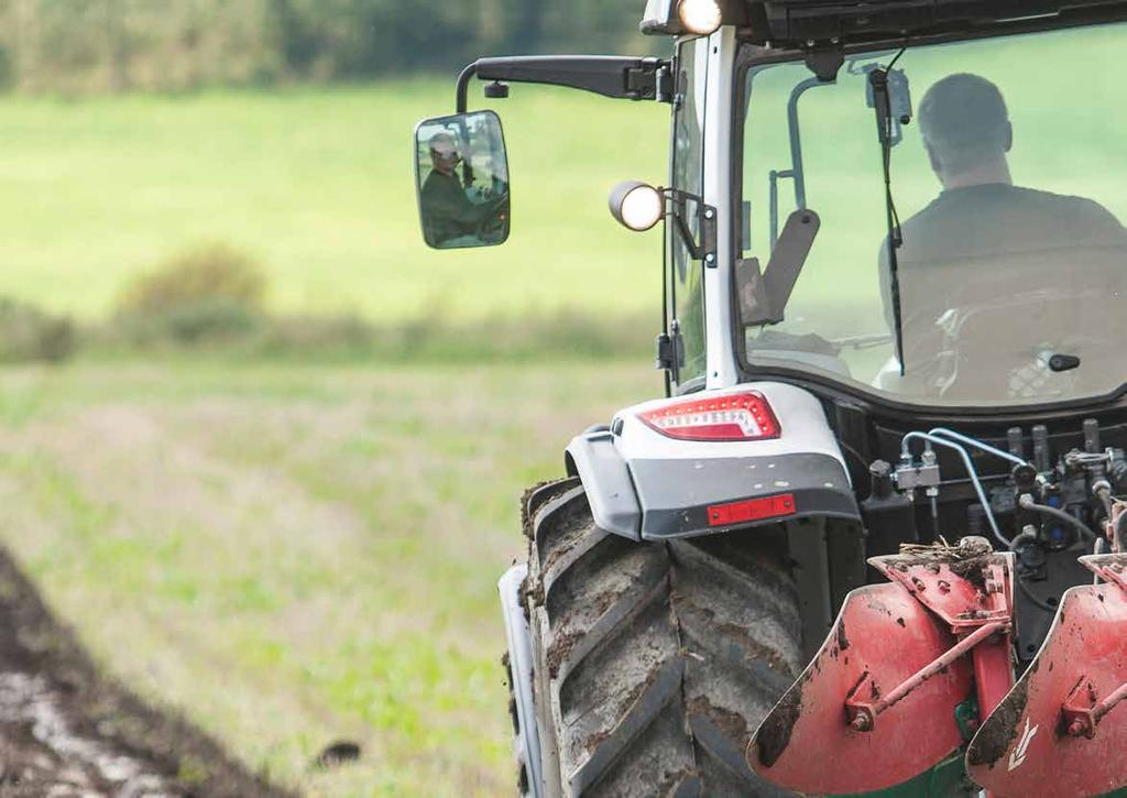 THE ALL-NEW A SERIES, REDESIGNED TO BE YOUR WORKING MACHINE. Valtra Inc.
