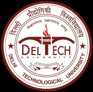 DELHI TECHNOLOGICAL UNIVERSITY TEAM RIPPLE Design Report May