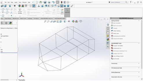 2.2 Decision on frame structure, housing, structure design Ripple s design has been modelled using Solidworks 2017.