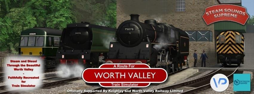 STEAM AND DIESEL Era: The year 2000 Onward Introduction: The Worth Valley for Train Simulator User Manual The Keighley and Worth Valley Railway is a 5-mile long heritage railway in the north-west of