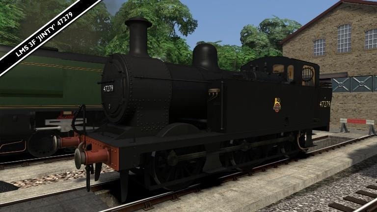 Fowler 3F Jinty 47279* A repaint of the 3F Jinty locomotive available on Steam HERE.