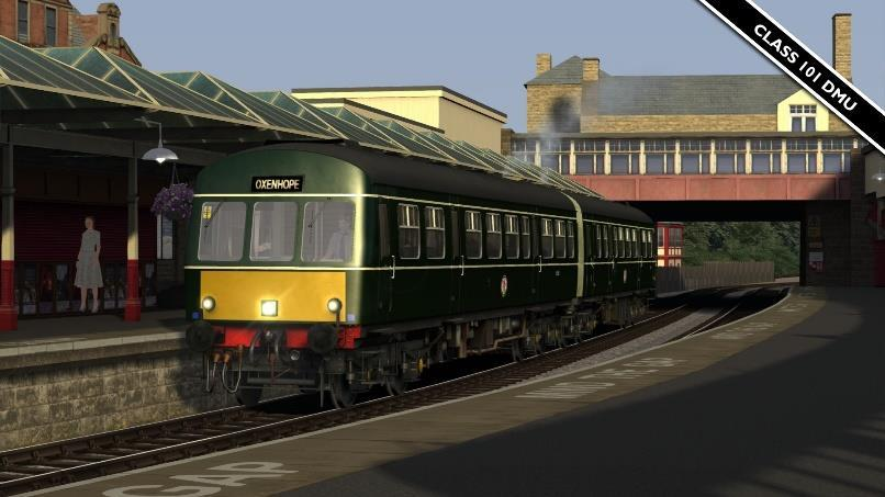 Class 101 DMU* Repaint of the Regional Railways Class 101 DMU on Steam available HERE.