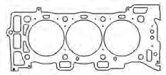 20 Timing Cover Set 1985-95 w/thick Front OP Seal...C5051...$24.91 Water Pump Gasket.018 AFM Material.