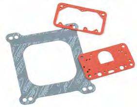 Carburetor Gaskets Designed by engineers, validated by the winners circle. Cometic carburetor gaskets are manufactured from performance grade materials that resist swelling from various types of fuel.
