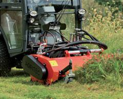 The key factors are, for example, that the machines are as compact, manoeuvrable and fl exible as possible while