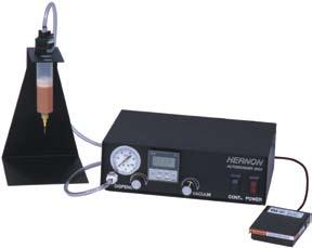 RotoCoater TM Dispenser Autobonder TM Dispensers Hernon Autobonders are a complete line of dispensers for dispensing any liquid including paste.