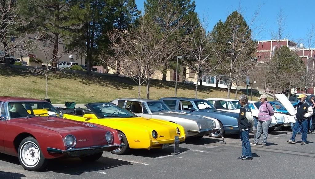 2018: Colorado School of Mines Car Show.