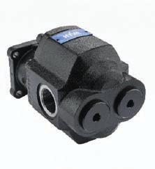 Gear pumps are mainly used for tipping applications on tractors or truck tippers.