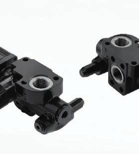 Hydraulic tipping valves HT 50 series Pneumatic connection (TIP)