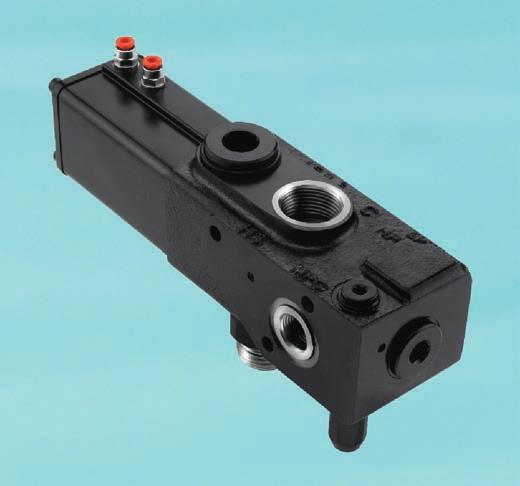 HYDRAULIC TIPPING VALVES, HT 220 SERIES HT 220 series valves are high performance valves suitable
