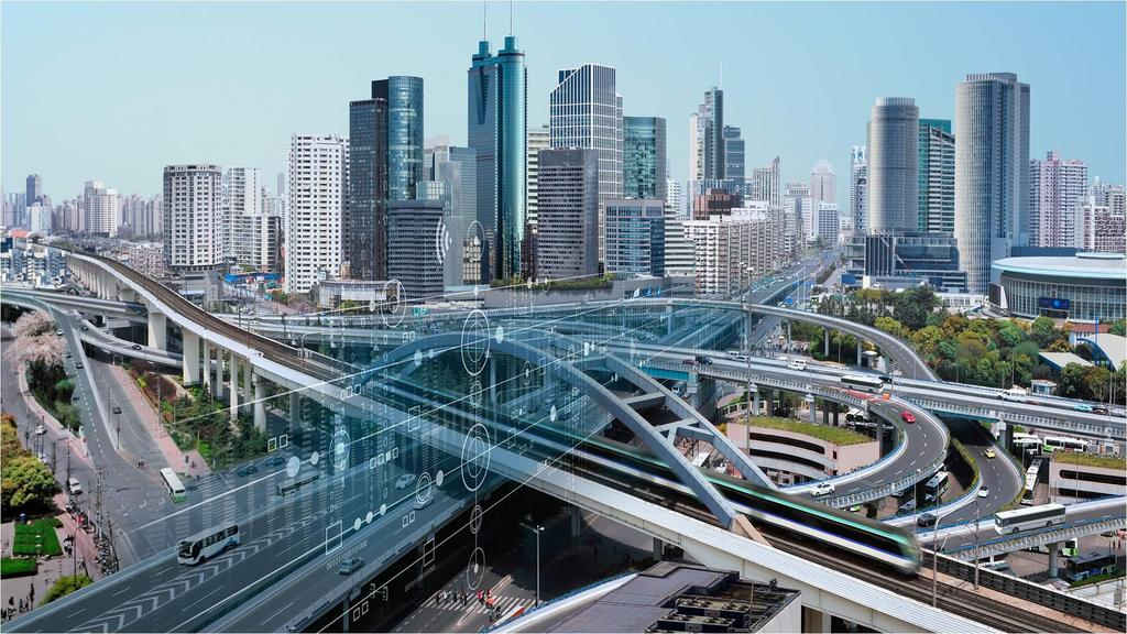 Low Carbon Traffic Integrating Siemens Traffic Controls and the Connected