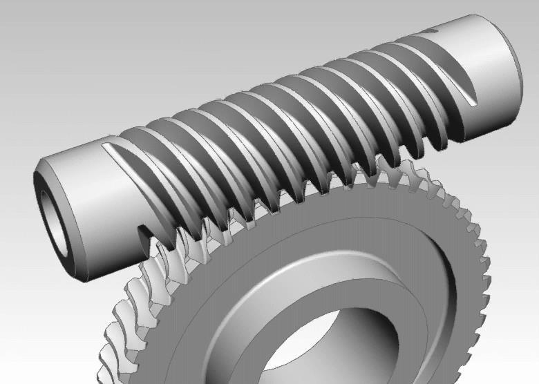 67 ACTIVITY < Fork Attachment > A worm gear is a screw that turns a spur gear with its axle at right angle. A worm gear creates a high gear ratio.