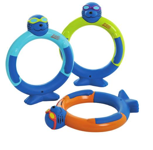 friends - 3 Zoggy Dive Rings -