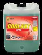 It provides excellent high temperature aluminium protection and is suitable for use in hard water. It is compatible with both conventional and OAT coolants.