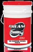 GREASES PARTS WASH NEVER MELT GREASE Hi-Tec Never Melt Grease is a multi-functional lubricating grease recommended for bearing applications where operational temperatures can be very high.