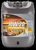AGRICULTURAL RANGE UNIVERSAL TRANS 10W/30 Hi-Tec Universal Trans is a 10W/30 grade new generation hydraulic/transmission Universal Tractor Transmission Oil (UTTO) designed for a wide range of