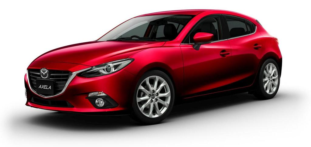 FISCAL YEAR MARCH 2014 FIRST HALF FINANCIAL RESULTS New Mazda Axela