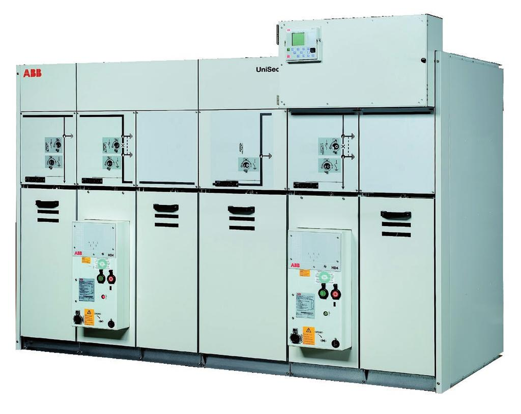 DISTRIBUTION SOLUTIONS UniSec for solar applications Air-insulated medium-voltage secondary distribution switchgear Safe, tested application