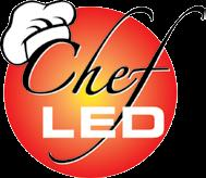 Made of shatterproof polycarbonate, which encases the LED bulb mechanism, the Chef LED