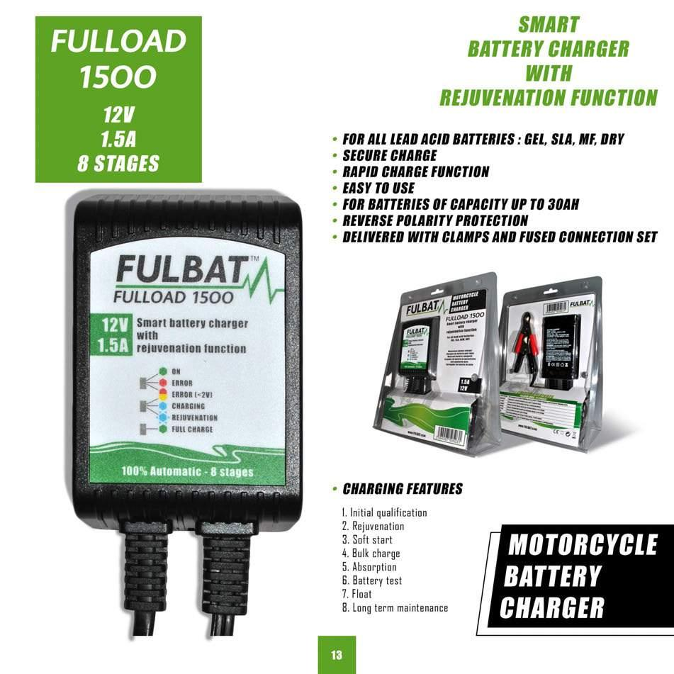 SMART BATTERY CRABBER WITH BEJUf/ENATION FUNCTION FOR ALL LEAD ACID BATTERIES: GEL, SLA, MF, DRY SECURE CHARGE RAPID CHARGE FUNCTION EASY TO USE FOR BATTERIES OF CAPACITY UP TO 30AH REVERSE POLARITY