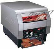 Toast-Qwik Conveyor Toasters Hatco's Toast-Qwik conveyor toasters gives you flexibility and performance.