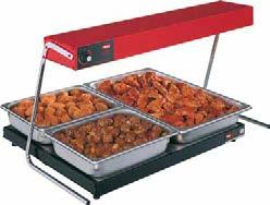 Glo-Ray Portable Heated Shelves Whether you need a heated workspace or extra base heat in a pass-through or buffet area, Hatco s full line of Glo-Ray Heated Shelf options can help you.